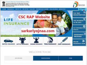CSC RAP Website