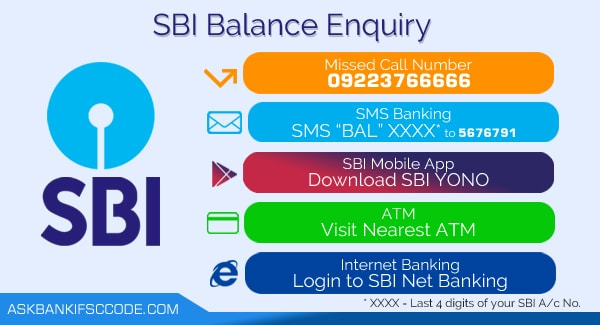 how can i check my sbi account balance enquiry online