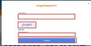 Haryana Parivar Forget Password